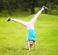 Handstands and cartwheels