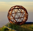 Make a geodesic dome or sphere