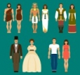 History of fashion and clothes
