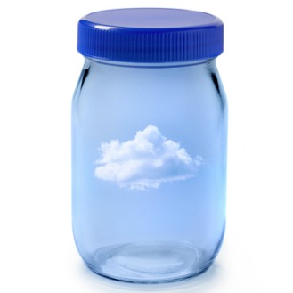 Cloud in a jar