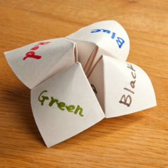 How to Make a Paper Fortune Teller – Boys' Life magazine | 329x329